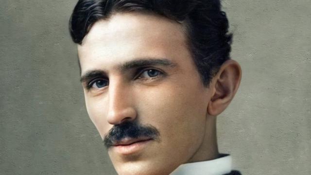 Никола Тесла са непуних 35 година - 1890.