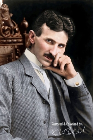 Никола Тесла 1896.