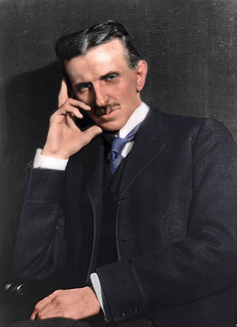 Тесла 1915.
